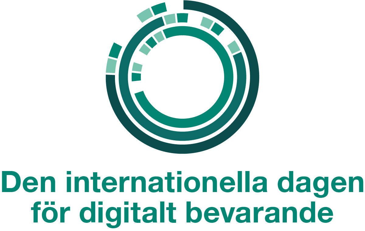 Internationella dagen för digitalt bevarande 5 november!