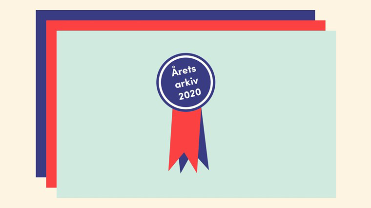Sydarkivera nominerat till Årets arkiv 2020