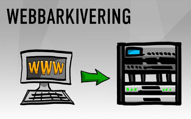 Arkivering av webbplatser och sociala medier